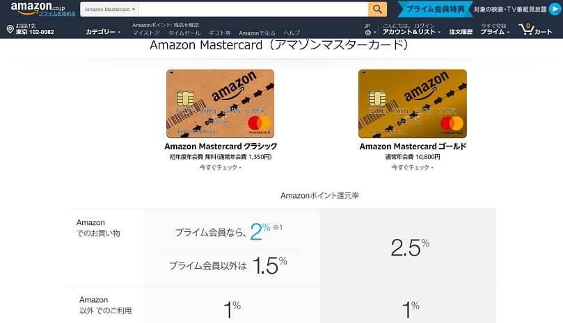 amazon mastercardサムネ用画像